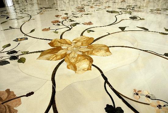 marmorboden in der moschee bild von scheich zayid. Black Bedroom Furniture Sets. Home Design Ideas