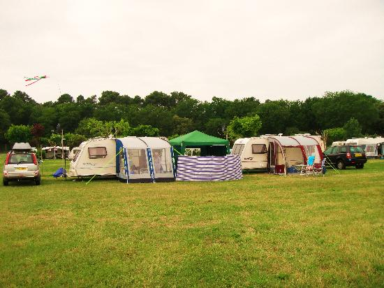 Camping Logis du Breuil : Our Pitch