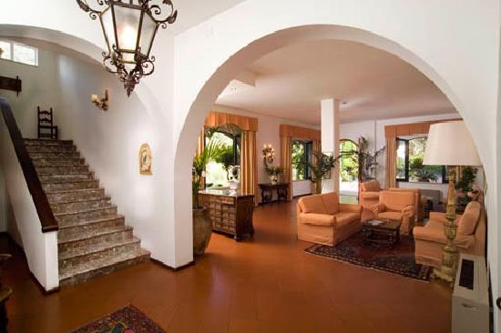 Hotel Villa Sirina: Salone ingresso