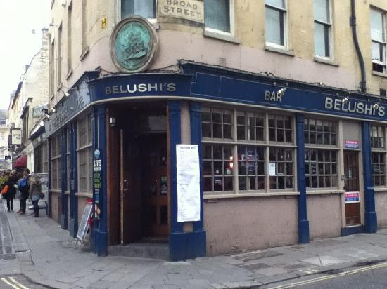 St Christopher's Inn Bath: You check in at Belushi's