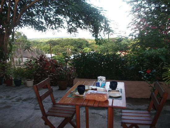 The Nest Tobago Apartments : Terrasse