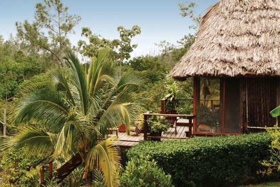 Blancaneaux Lodge: The Honeymoon Cabana