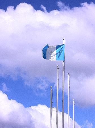 Guatemala City, Guatemala: Bandera de Guatemala