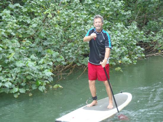 Turtle's Paddle Adventures: up and paddling on the first try