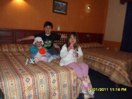El Marques Hacienda Hotel: descanzando en la habitacion