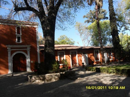 El Marques Hacienda Hotel: la fachada de la hacienda