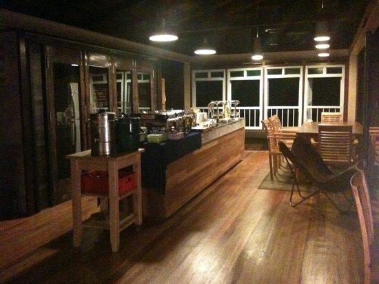 Kampung Jelebu, Malaysia: Main kitchen