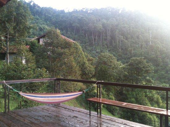 Kampung Jelebu, Malaysia: Upper open deck