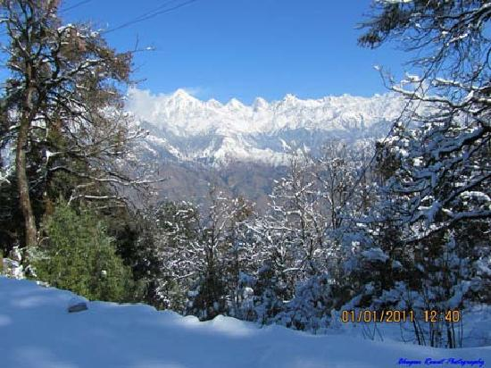 Munsiyari, India: Snow Fall