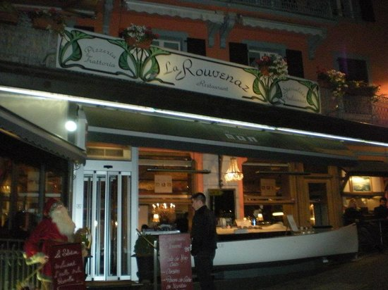 La Rouvenaz: Restaurant Awning-Centrally located