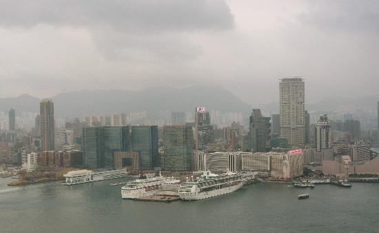 Four Seasons Hotel Hong Kong: View across to Kowloon via Star Ferry