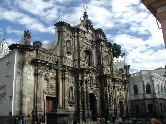 La Iglesia De La Compañía Una Joya Del Arte Barroco En: Zeg Maar Yes • Reisrubriek #8 Ecuador: Quito En Omgeving