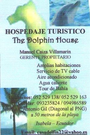 Casa Los Delfines: Business Card
