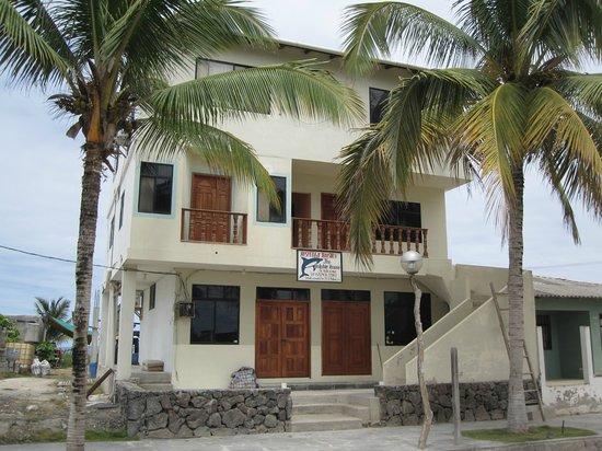 Casa Los Delfines: Hotel Front