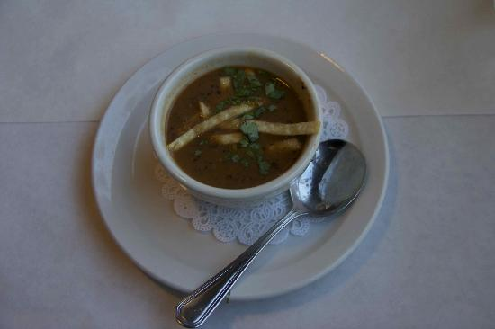Lefty's Grill: Black Bean Soup