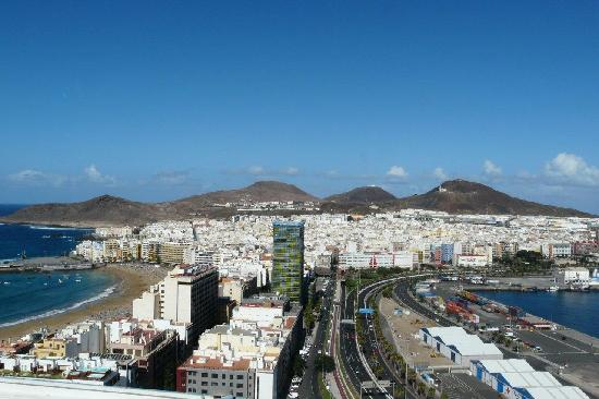 AC Hotel Gran Canaria: Fantastic view from hotel roof