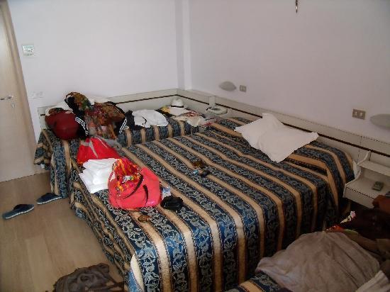 Hotel Europa : une chambre