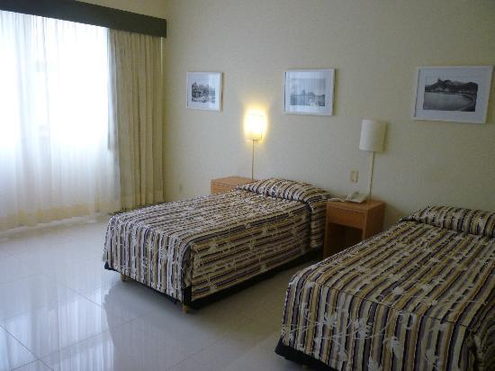Hotel Atlantico Praia: Habitación