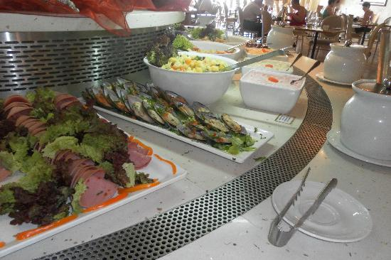 Atlantica Golden Beach Hotel: Great variety of food