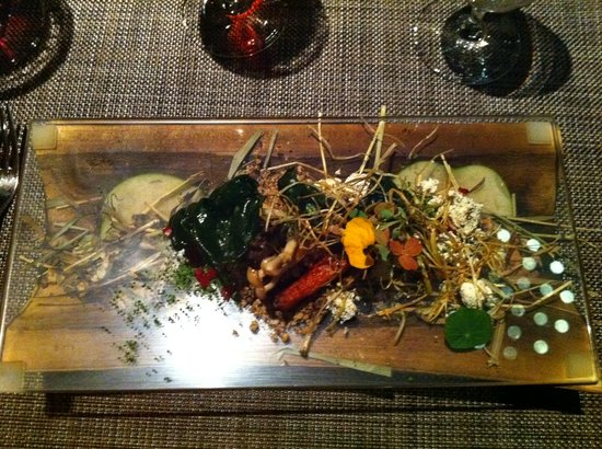 "Next Restaurant : ""Autumn Scene"" a delicious veggie dish"