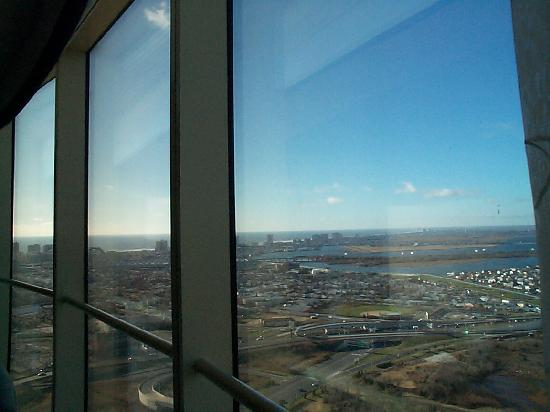 Borgata Hotel Casino & Spa: morning view from Fiore room 42nd floor