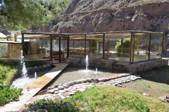 Parque de Agua Termas Cacheuta: Termas Cachueta - Entrada Centro Termal