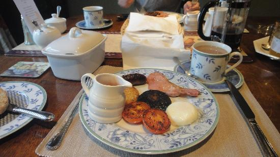 Ilketshall St Lawrence, UK: Alfie wanting breakfast