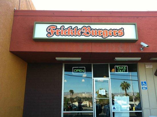Frickleburgers storefront