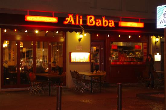 Insegna picture of ali baba berlin tripadvisor for Ali baba cuisine