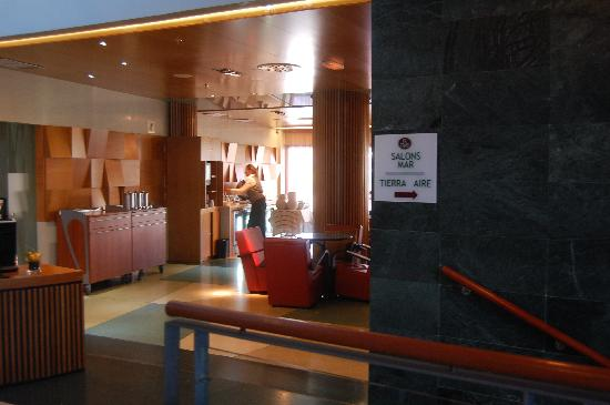 BAH Barcelona Airport Hotel: Elite Club lounge