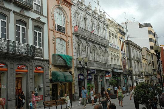 Las Palmas de Gran Canaria, İspanya: Calle de Triana