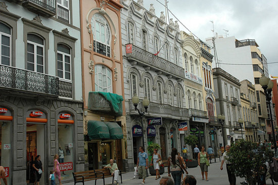 Las Palmas de Gran Canaria, Tây Ban Nha: Calle de Triana