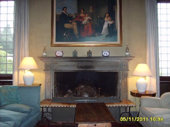 Villa Rucellai: salone di rappresentanza