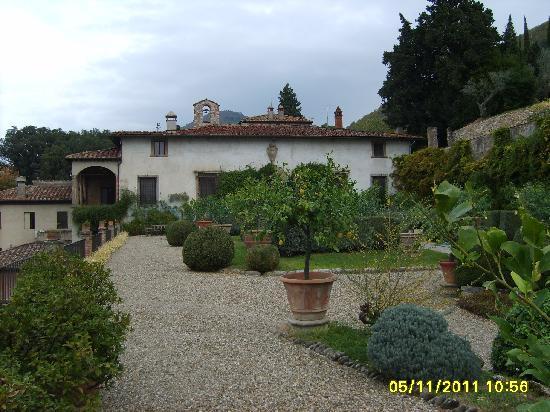 Il giardino all 39 italiana picture of villa rucellai - Giardino all italiana ...