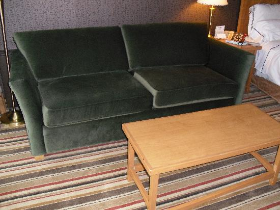 Clarion by Choice Hotel and Conference Centre: My room came with a sleeper sofa.