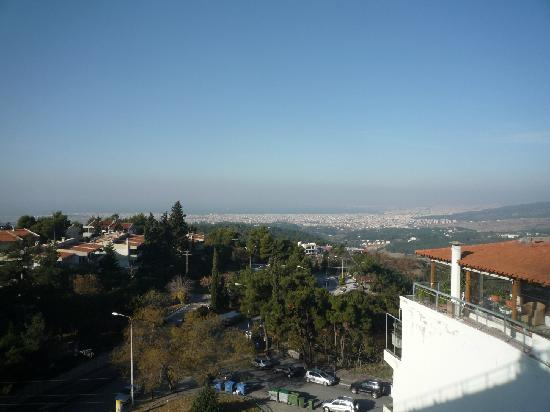 Nepheli Hotel : view from the room on the 5th floor