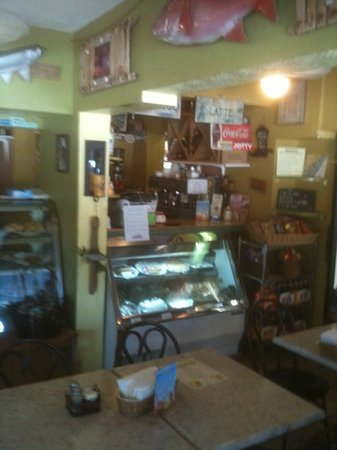 Village Gourmet: inside VG. don't miss the lovely patio!!