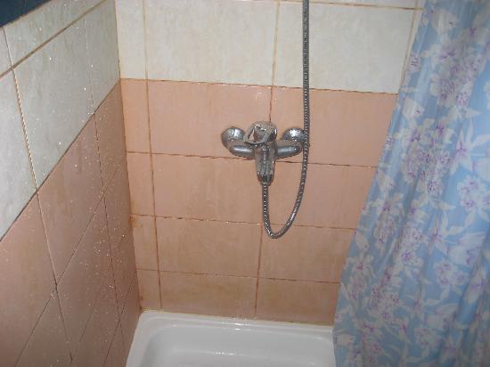 Shalimar Park Hotel: Shower