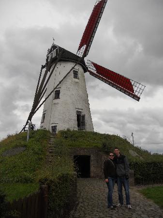 Hotel Cordoeanier: Damme windmill