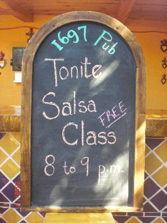 Hotel 1697 Loreto : Salsa Class