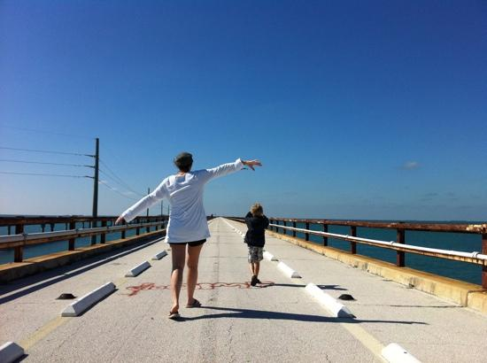 Seven Mile Bridge: soaring like a pelican