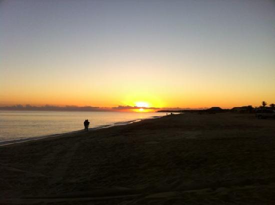 Hotel Buena Vista Beach Resort : sunrise over the Sea of Cortez