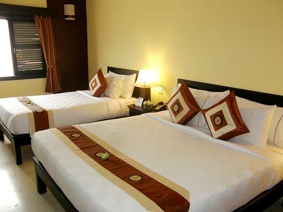 โรงแรมสิดธาตา บูติก: Deluxe Family Room
