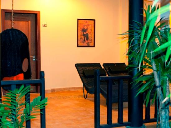 Siddharta Boutique Hotel: Terrace Ground Floor