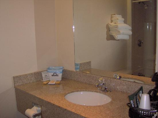 Days Inn Toronto East Beaches: Wash room