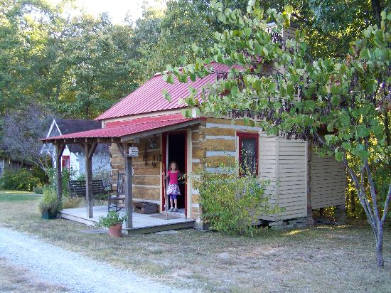 Natchez Hills Bed & Breakfast: The Log Cabin