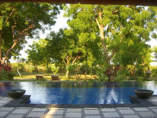 Santi Sari Boutique Hotel: Pool near Banyan 4