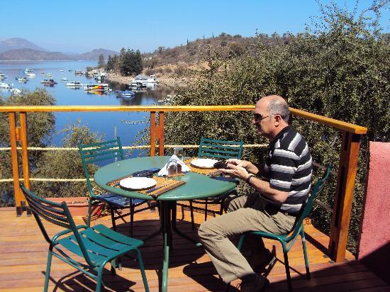 Coronel Moldes, Argentina: 6.-Salta-Terrazas del Lago: para comer al aire libre