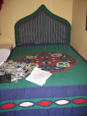 تاليسمان هوتيل جو شارم: My bed