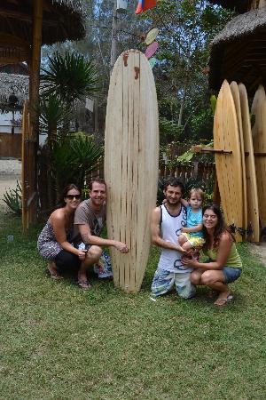 Balsa Surf Camp: Le jour ou j'ai récupéré ma planche.